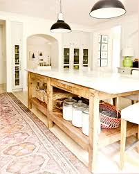 kitchen island farm table my my affair with rugs home