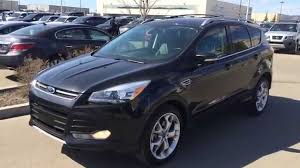 Ford Escape Black - pre owned black 2013 ford escape 4wd 4dr titanium ecoboost