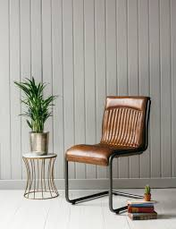 Leather Desk Chair by Italian Leather U0026 Steel Office Chair In Tan Rose And Grey