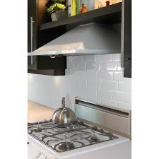 Peel And Stick Wall Tiles Metro Blanco Smart Tiles - Smart tiles backsplash