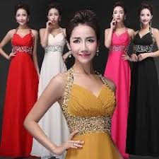 halter chiffon long light champagne bridesmaid dresses light
