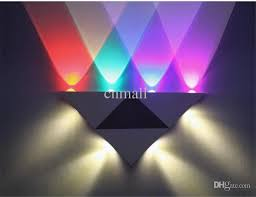 decor awesome led decorative wall lights home design popular