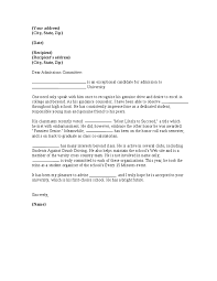 college application recommendation letter hashdoc