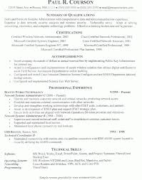 Entry Level System Administrator Resume Sample Download Linux Sys Administration Sample Resume