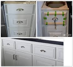 Adding Kitchen Cabinets Easy And Inexpensive Cabinet Updates Adding Trim To Cabinets
