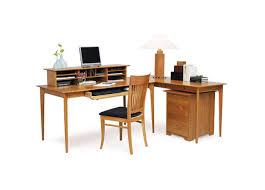 sarah desk return desktop organizer and rolling file three chairs