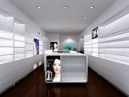 Where Do Interior Designers Shop Fashion Shop Display Counter Cosmetic Shop Interior Design Buy