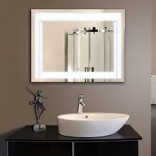 led lighted bathroom mirrors buy oval mirrors u0026 circle mirror