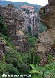 Meteora Greece Map by Athens Greece Now The Meteora Mountain Peaks In Thessaly Greece