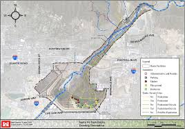 Santa Fe Map Santa Fe Dam Recreational Opportunities U003e Los Angeles District