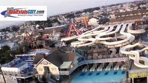from above the water park in beach haven long beach island nj