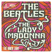 The Inner Light Beatles Beatles Lady Madonna The Inner Light France 1968 Notice