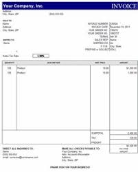 sample invoice template free free business template sample medical