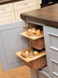 vegetable storage kitchen cabinets root vegetable storage baskets hgtv