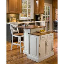 kitchen islands bar stools home styles woodbridge white kitchen island with seating 5010 948
