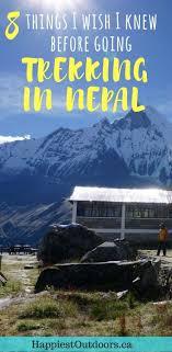 8 Things I Wish I Knew Before Going Trekking in Nepal