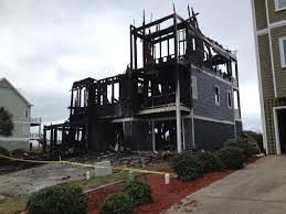 Beach Houses In Topsail Island Nc by Flames Engulf Nine Bedroom House On North Topsail Beach News