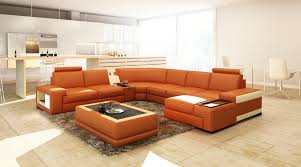 modern bonded leather sectional sofa casa 5103 modern bonded leather sectional sofa w audio system