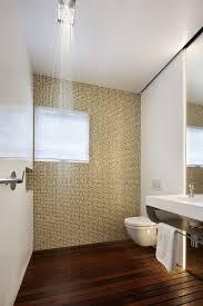 Contemporary Bathroom Shelves Mosaic Accent Wall Bathroom Contemporary With Floating Shelves