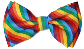 pre bow tie in coool brand gift box rainbow at s