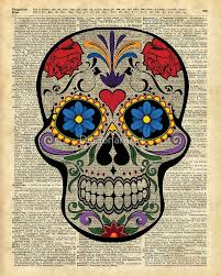 happy halloween artwork happy skull sugar skull dia de los muertos halloween artwork
