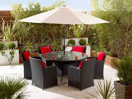 Outdoor Rattan Garden Furniture by 6 Seater Rattan Dining Set Rattan Garden Furniture Living It