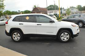 jeep cherokee sport 2005 2014 jeep cherokee white 4x4 sport used suv sale