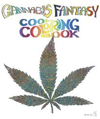 amazon com cannabis fantasy cool coloring book 9780867197174
