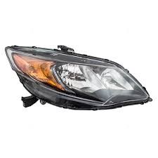 honda civic headlight everydayautoparts com 14 15 honda civic coupe passengers