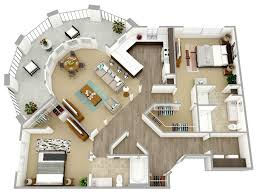 Floor Plan Free by 3d Floor Plans Modern House 3d Floor Plans Floor Plan For Modern