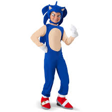 sonic costume the hedgehog for kids sonic the hedgehog kids costume