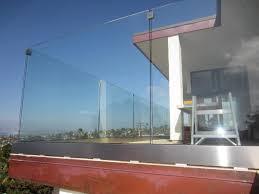 glass railing san diego coastline patriot glass and mirror