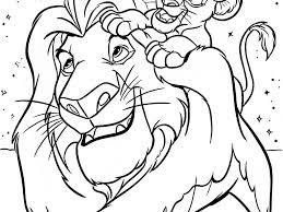 disney color pages coloring page for kids