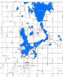 Green Lake Wisconsin Map by Lake Maps Sizes U0026 Depths U2013 Iowa Great Lakes Association