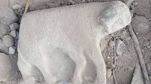 lioness statue israeli archaeologists found an ancient statue of a lioness