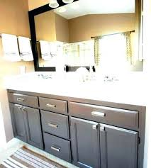 bathroom cabinets painting ideas refinish bathroom cabinets sweetdesignman co