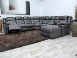 reclers sectional sofas recliners leather recliner chaise with