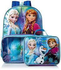 disney frozen elsa anna glitter backpack book bag 2014 2nd