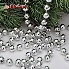 150cmx10mm round beads christmas tree bead chain decorative
