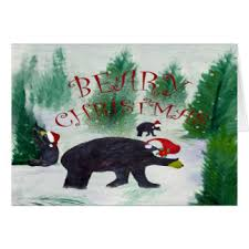 black bear greeting cards zazzle