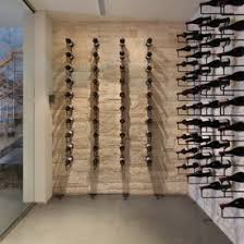 Wine Cellar Wall - pretty traditional wine cellar room design interior decorated with