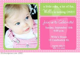 baby s 1st birthday baby girl 1st birthday invitation yourweek 316408eca25e