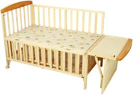 Buy Wooden Bed Online India Buy Baby Cot With Bassinet Online At Low Prices In India Amazon In