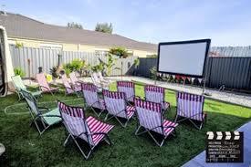 Backyard Movie Night Projector Melbourne U0027s Mobile Backyard Movie Nights In Melbourne Vic Cinema