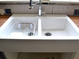 kitchen sink cozy ikea farmhouse sink with wood countertop for