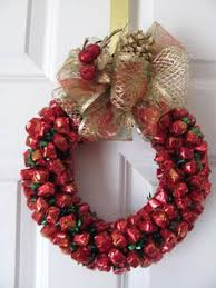 candy wreath aluminum can wreath candy wreaths make great christmas