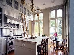kitchen french bistro island stools french farmhouse italian