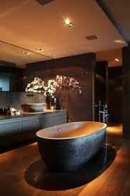 dark bathroom ideas bathrooms inviting home inspired stunning bathroom by eric