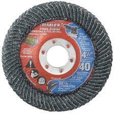 diablo 4 1 2 in 40 grit steel demon corner edge grinding and