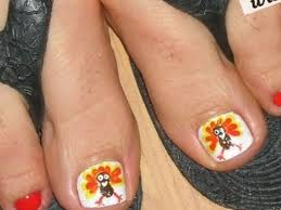 thanksgiving toe nail art mailevel net